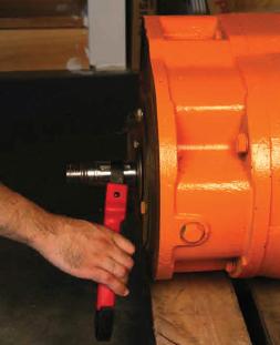 AT33 Electric Motor Testing