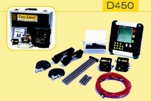 Contents of Easy-LaserTM D450 Shaft Alignment Tool