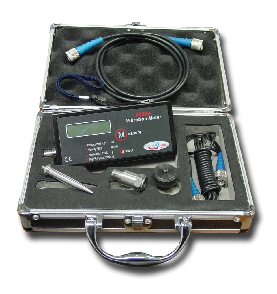 Reliability Direct 908 Vibration Meter
